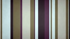 Las rayas multicoloras Paperlike 06 //4k texturizaron el lazo video @60fps del fondo de las barras púrpuras oscuras stock de ilustración