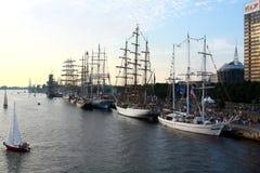 Las razas altas 2013 de las naves Foto de archivo