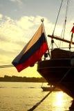 Las razas altas Riga 2013 de las naves Foto de archivo libre de regalías