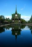 Las reliquias de Buda de la pagoda de Chaiya fotografía de archivo libre de regalías