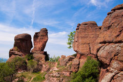Las rocas de Belogradchik Fotos de archivo