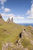 Las rocas de Storr en la isla de Skye Imagenes de archivo