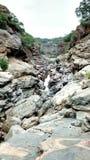 Las rocas en Chunchi caen cerca de Bangalore fotografía de archivo libre de regalías
