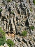 Las rocas en el barranco Foto de archivo