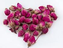 Las rosas chinas para un té imagen de archivo