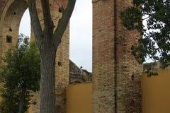Las ruinas Foto de archivo
