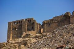 Las ruinas acercan a la ciudadela en El Cairo imagen de archivo