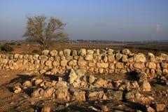 Las ruinas antiguas de Timna de Judea fotografía de archivo