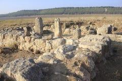 Las ruinas antiguas de Timna de Judea imágenes de archivo libres de regalías