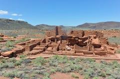 Las ruinas antiguas del pueblo, Arizona Foto de archivo
