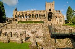 Las ruinas completas Imagen de archivo libre de regalías