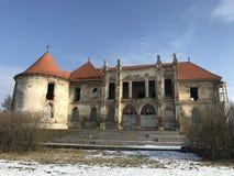 Las ruinas de Banffy se escudan en Bontida, país de Cluj Imágenes de archivo libres de regalías