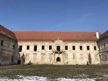 Las ruinas de Banffy se escudan en Bontida, país de Cluj Fotografía de archivo libre de regalías