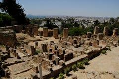 las ruinas de Carthage Fotos de archivo
