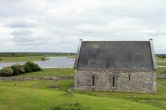Las ruinas de Clonmacnoise fotos de archivo