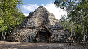 Las ruinas de Coba fotos de archivo libres de regalías