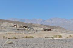Las ruinas de Harmony Borax Works, California foto de archivo