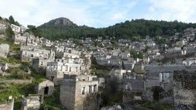 Las ruinas de Kayakoy Fotografía de archivo