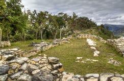 Las ruinas de Kuelap Imágenes de archivo libres de regalías