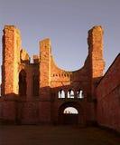 Las ruinas de la abadía de Arbroath Foto de archivo libre de regalías
