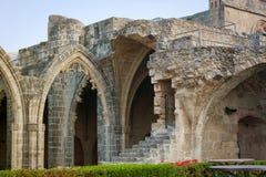 Las ruinas de la abadía de Bellapais Fotos de archivo libres de regalías
