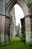 Abadía 6 de Rievauxl Imagen de archivo libre de regalías