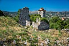 Las ruinas de la barra vieja de la ciudad, Montenegro Imágenes de archivo libres de regalías