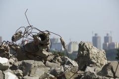 Las ruinas de la ciudad foto de archivo libre de regalías