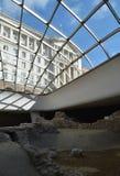 Las ruinas de la fortaleza antigua Serdika Foto de archivo libre de regalías