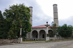 Las ruinas de la mezquita en la ciudad de Shoushi, repub de Nagorno Karabaj Fotos de archivo libres de regalías