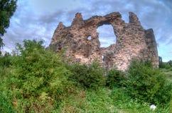 Las ruinas de la pared Fotografía de archivo libre de regalías
