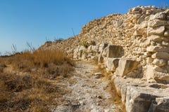 Las ruinas de la pared de la ciudad Fotos de archivo