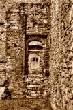Las ruinas de la sepia cisterciense de HDR del monasterio de la abadía C de Netley entonan Foto de archivo libre de regalías