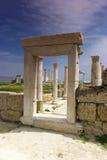 Las ruinas de Laodicea una ciudad de Roman Empire en moderno-día, Turquía, Pamukkale Foto de archivo libre de regalías