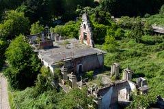 las ruinas de los establos en Milano cerca de San Siro Fotografía de archivo libre de regalías