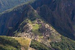 Las ruinas de Machu Picchu Imagen de archivo libre de regalías