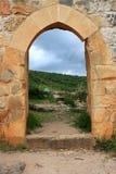 Las ruinas de Montfort se escudan, Israel imágenes de archivo libres de regalías