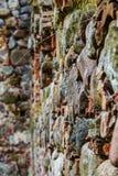 Las ruinas de una iglesia vieja Imagen de archivo libre de regalías