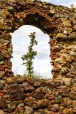Las ruinas de una iglesia vieja Imagenes de archivo