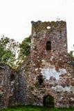 Las ruinas de una iglesia vieja Foto de archivo libre de regalías