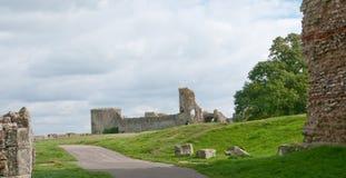 Las ruinas del castillo Foto de archivo