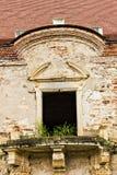 Las ruinas del castillo de Banffy en Bontida fotografía de archivo