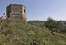 Las ruinas del castillo de Vysechkovsky Imagenes de archivo