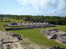 Las ruinas del EL Rey imagenes de archivo