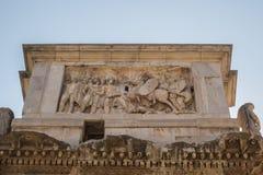 Las ruinas del foro romano Fotografía de archivo libre de regalías
