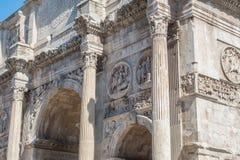 Las ruinas del foro romano Fotos de archivo libres de regalías