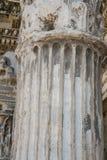 Las ruinas del foro romano Fotografía de archivo