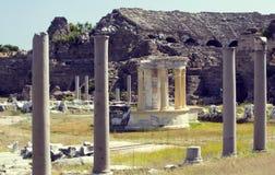 Las ruinas del lado antiguo Foto de archivo