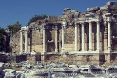 Las ruinas del lado antiguo Fotos de archivo libres de regalías