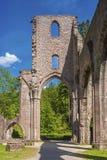 Las ruinas del monasterio de todos los santos Allerheiligen en Oppenau Imagen de archivo libre de regalías